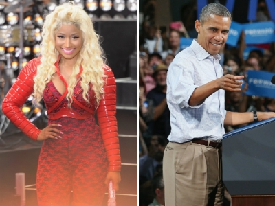 nicki minaj obama