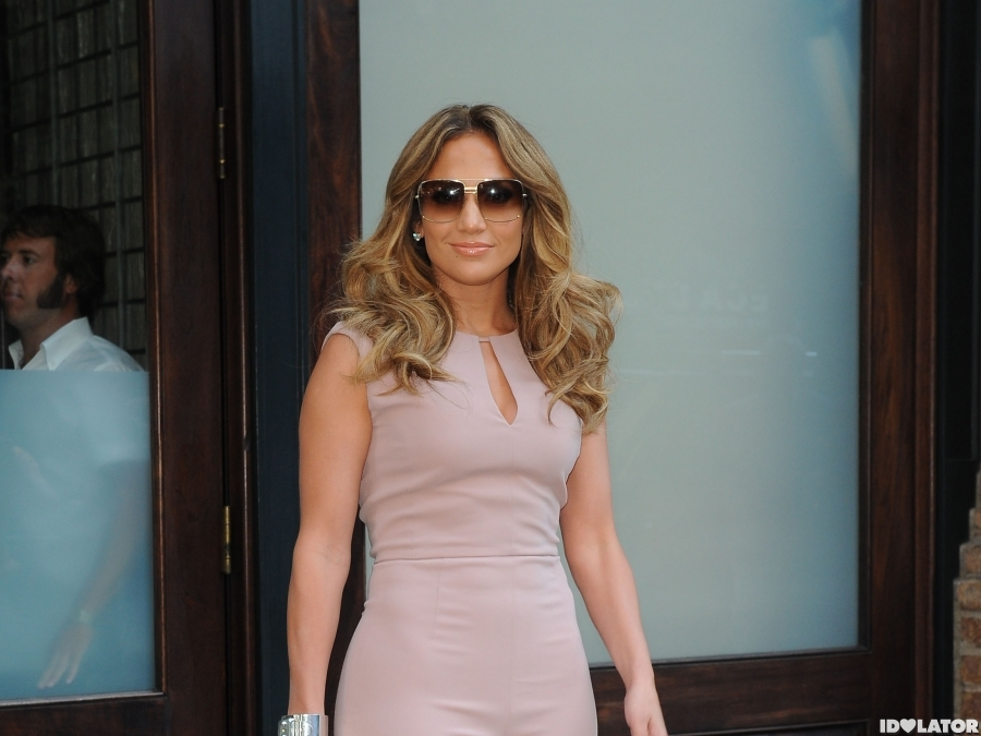 J.Lo In The Big Apple