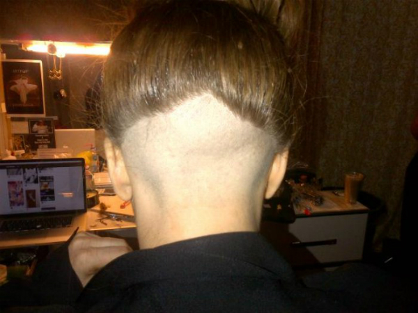 lady gaga haircut