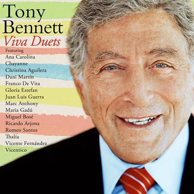 Tony Bennett Viva Duets Cover Artwork 2