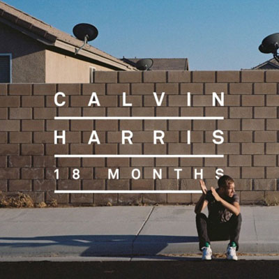 Calvin Harris 18 Months Cover Artwork
