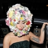 Lady Gaga Floral Headdress
