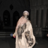 Lady Gaga Fur Fashion Week