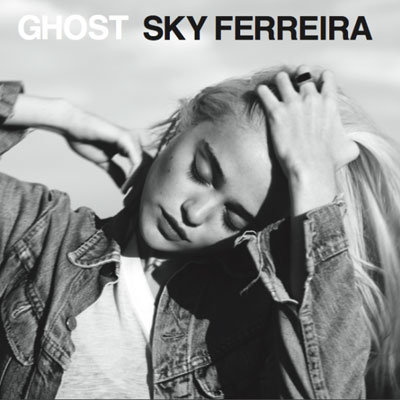 Sky Ferreira Ghost EP Cover Artwork