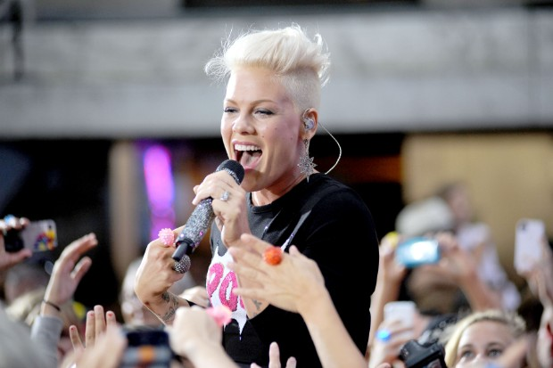 today show pink