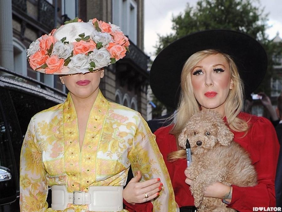 Lady Gaga Channels Mary Poppins