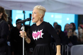 "Pink Performs ""Blow Me (One Last Kiss)"" & ""So What"" On 'TODAY': Watch"