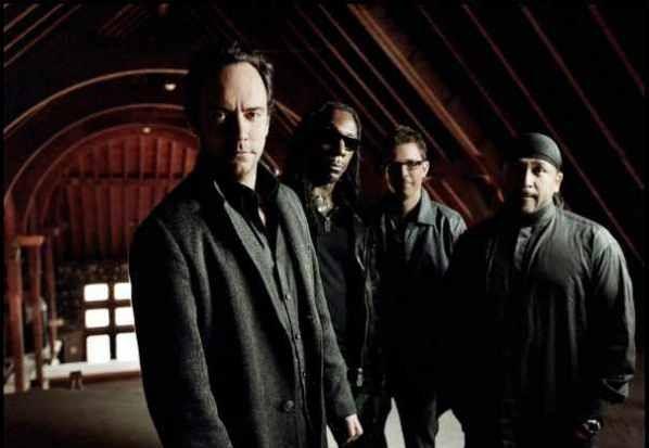 Dave Matthews Band group photo