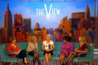 "Pink Talks Marriage Drama & Performs ""Blow Me (One Last Kiss)"" On 'The View'"