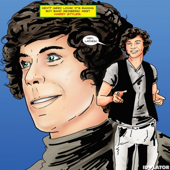 One Direction's 'FAME' Comic Book