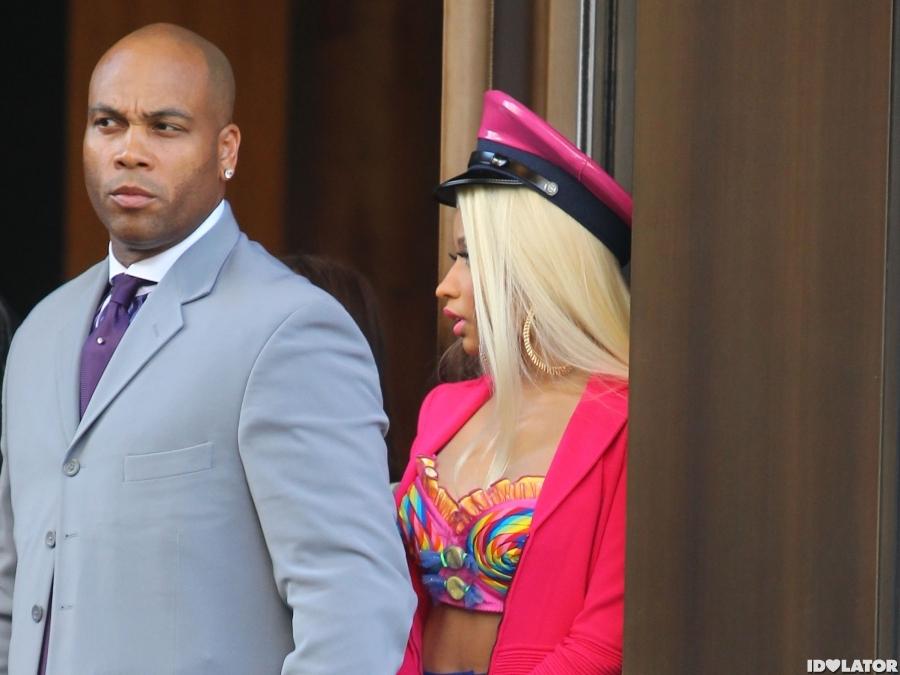 Nicki Minaj Wears Pink On 'The View'