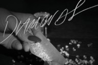"Rihanna Rolls An Expensive Joint On ""Diamonds"" Single Artwork"