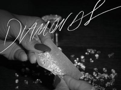 "Rihanna Rolls An Expensive Joint On ""Diamonds"" Single Artwork"