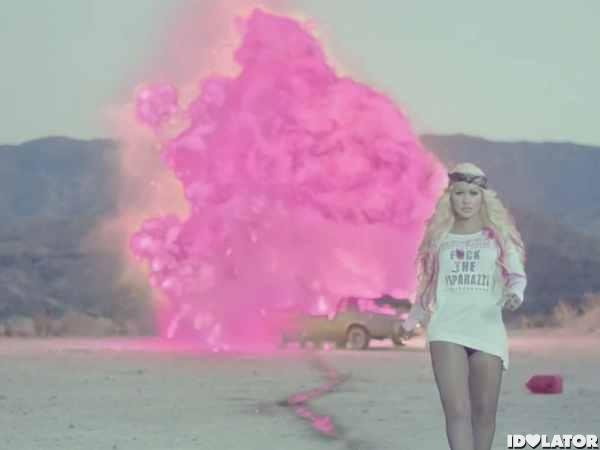 "Christina Aguilera ""Your Body"" Video: Christina Car-Bomber"