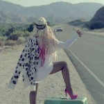"Christina Aguilera ""Your Body"" Video: Hitchin' A Ride"