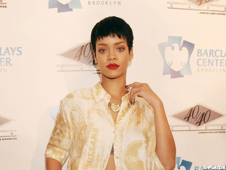 Rihanna And Jay-Z At 40/40 Club Launch