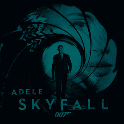 Adele Skyfall Single Cover Artwork