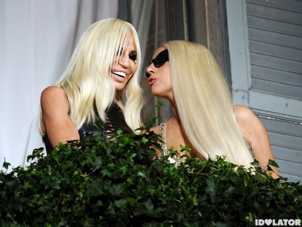 Lady Gaga Donatella Versace