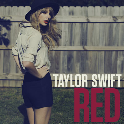Taylor Swift Red Single Artwork
