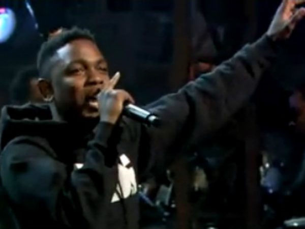 Kendrick Lamar S Tv Debut Watch Swimming Pools Drank On Late Night Idolator
