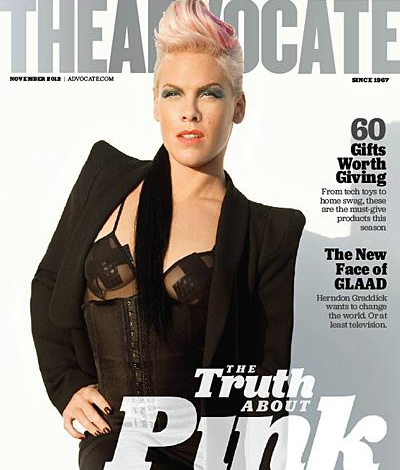 pink the advocate