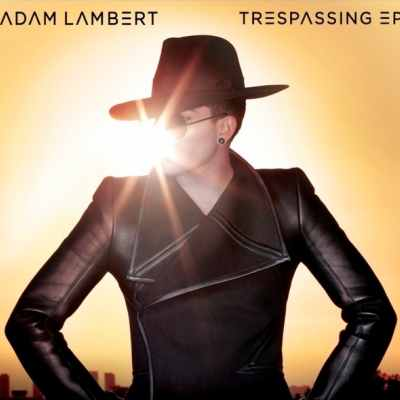 Adam Lambert Trespassing EP cover art