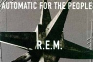 R.E.M.'s 'Automatic For The People' Turns 20: Backtracking
