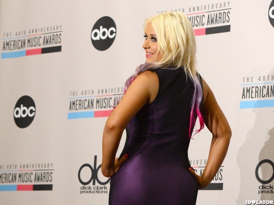 Xtina Is Perfect In Purple
