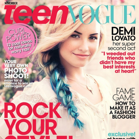 Demi Does 'Teen Vogue'