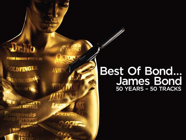 'Best Of Bond…James Bond: 50 Years — 50 Tracks' Prize Pack Giveaway: Enter!