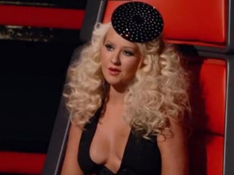 while - Christina Aguilera Halloween