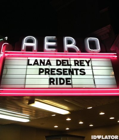 Lana Del Rey Ride Video Premiere