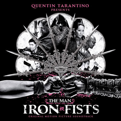 Man With The Iron Fists Soundtrack Cover Art
