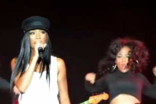 Brandy Tributes Whitney Houston At 'Two Eleven' Release Show: Watch