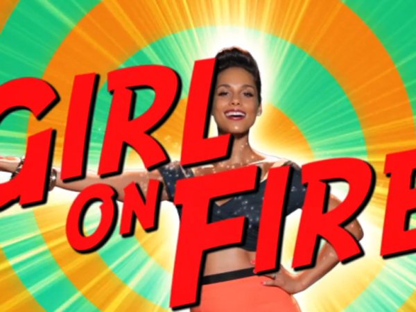 """Alicia Keys' """"Girl On Fire"""" Music Video: Watch As She Works Her Magic"""