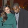 Kanye West & Kim Kardashian In Rome
