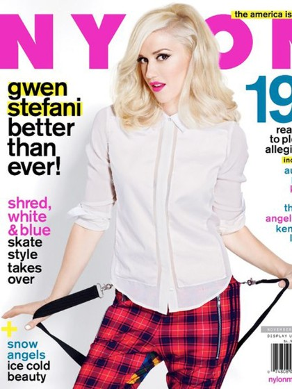 Gwen Stefani For 'Nylon'