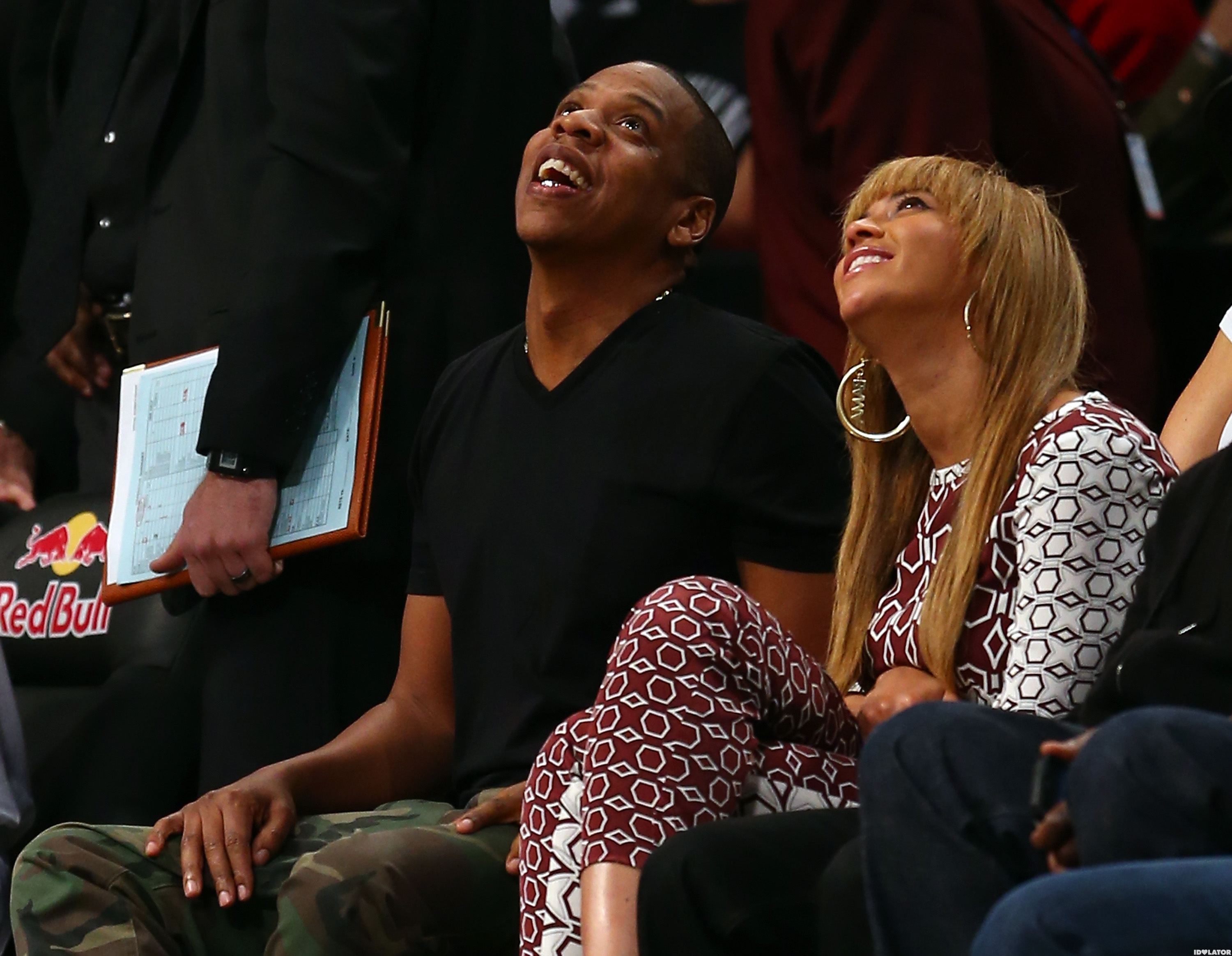 Jay And Bey Root For The Nets