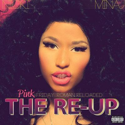 Nicki Minaj 'Pink Friday: Roman Reloaded — The Re-Up' Album Artwork