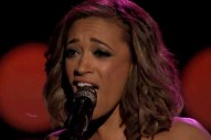 "'The Voice': Amanda Brown Rocks Aerosmith's ""Dream On"" In Live Performances"