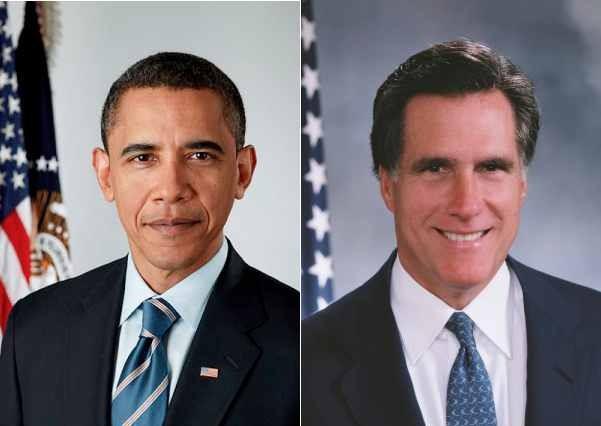Barack Obama President 2012 Mitt Romney election day