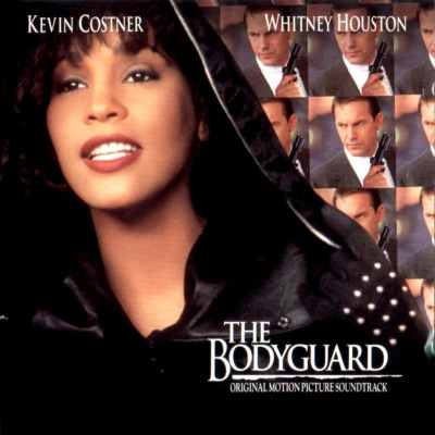 Whitney Houston The Bodyguard soundtrack album cover 1992