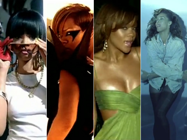 Rihanna 7 Best Videos Hard Shut Up And Drive We Found Love SOS