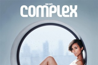 Alicia Keys' Complex Cover: See The Cozy, Colorful Shoot