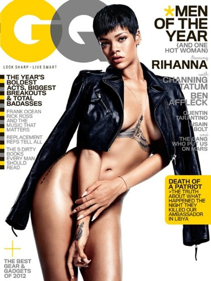 Rihanna Shows Skin For 'GQ'