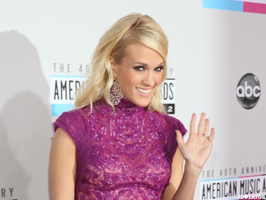 Carrie Underwood Looks Royal In Purple