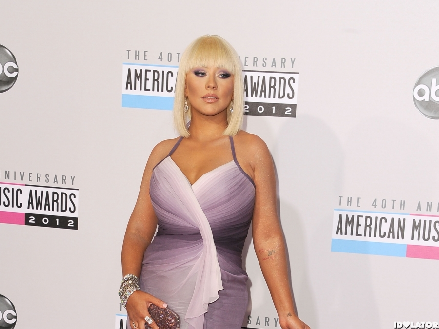 Christina Aguilera Shows Off Her Body On The Red Carpet