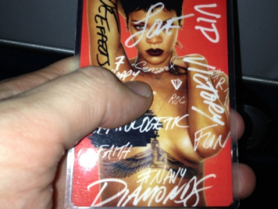 Rihanna 777 Tour VIP Pass
