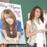 Miley Publishes Her First Book, 'Miles To Go': 2009