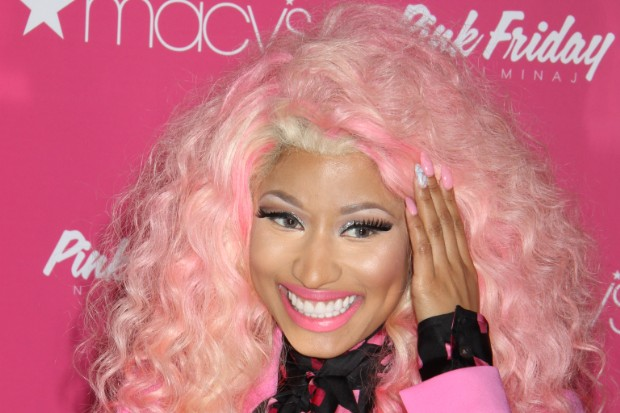 Nicki Minaj at Macy's To Celebrate The Holiday Season and the success of her debut fragrance PINK FRIDAY